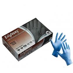 Nitrilové rukavice šedé nepudrované